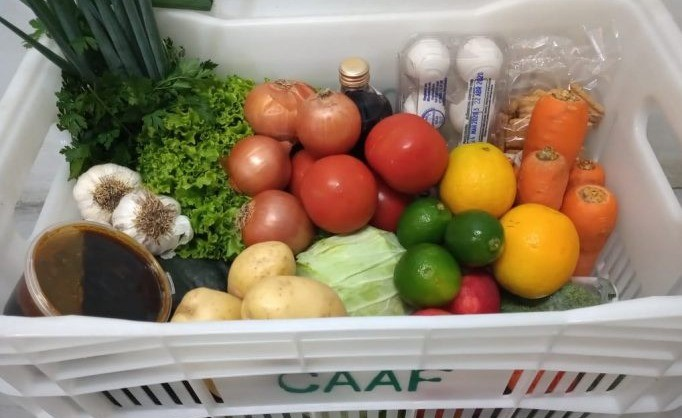Foto Plataforma online para compra de alimentos da agricultura familiar