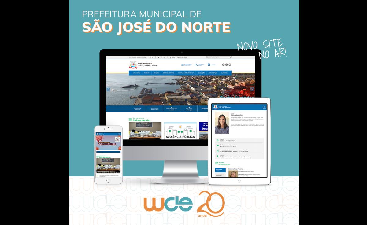 Foto São José do Norte: Eficiência na comunicação