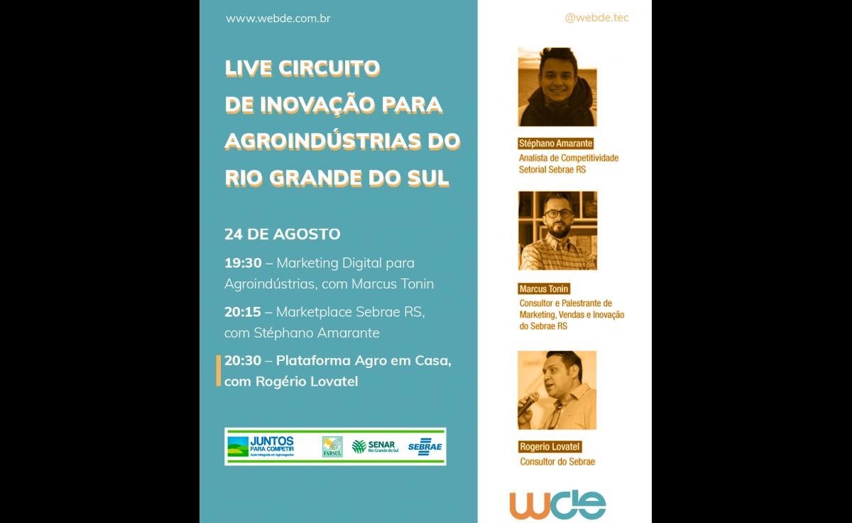 Foto Circuito de Inovação para Agroindústrias - RS