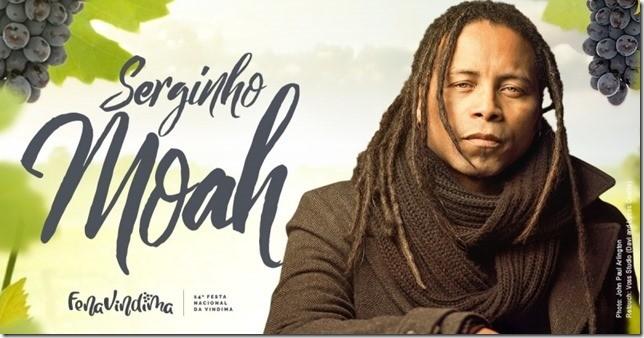 Foto de capa Serginho Moah será a atração principal da sexta-feira, dia 14, na FenaVindima