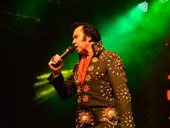 Foto Show de Elvis Presley Cover acontece neste sábado, dia 29, na FenaVindima