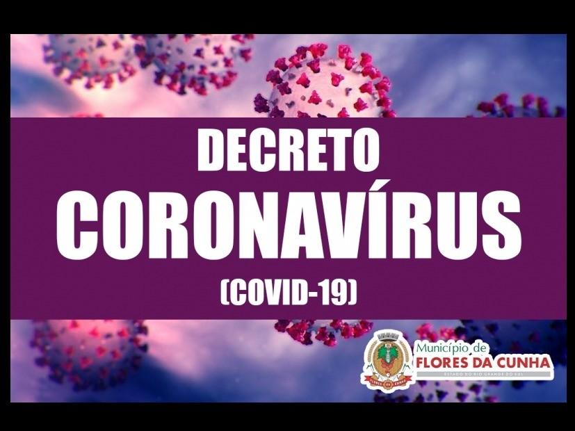 Foto Prefeitura de Flores da Cunha emite decreto com informações complementares de prevenção ao contágio pelo novo Coronavírus