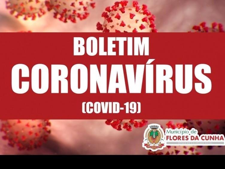 Foto Boletim sobre o Coronavírus 18/03 - Prefeitura de Flores da Cunha