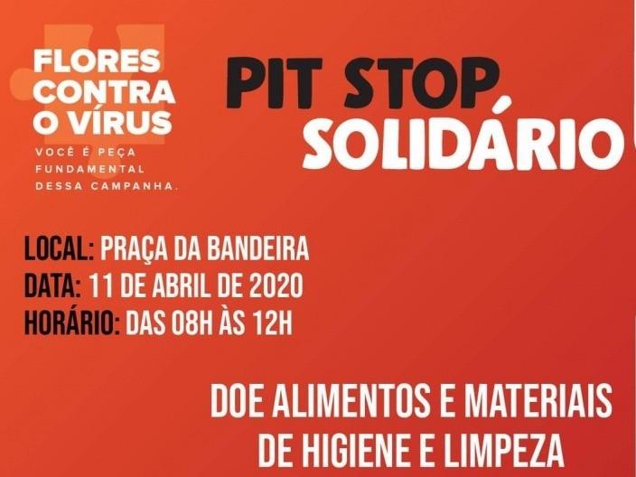 Foto Entidades se mobilizam para o Pit Stop solidário