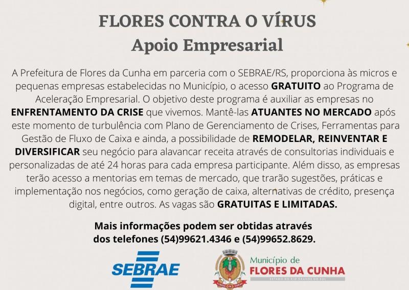 Foto de capa Prefeitura e Sebrae disponibilizam gratuitamente às micro e pequenas empresas o Programa de Aceleração Empresarial
