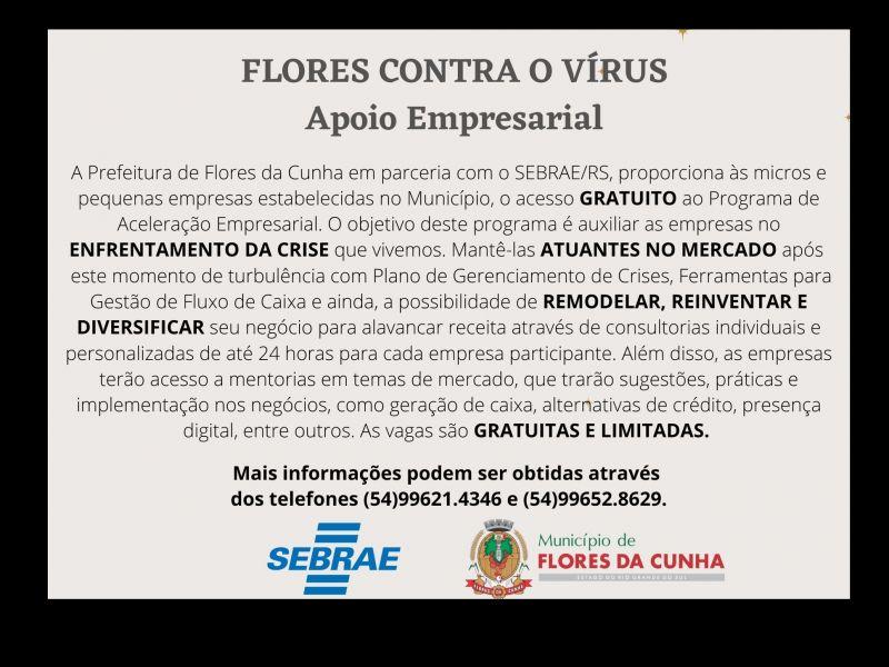 Foto Abertas as inscrições para micro e pequenos empresários realizarem qualificação gratuita em parceria com o Sebrae