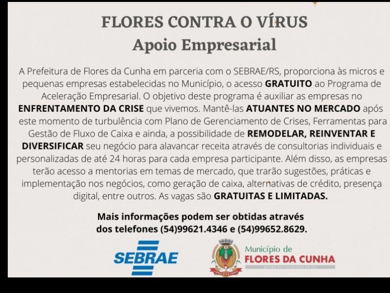 Foto Últimas vagas para os micro e pequenos empresários realizarem qualificação gratuita em parceria com o Sebrae