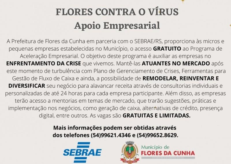 Foto de capa Últimas vagas para os micro e pequenos empresários realizarem qualificação gratuita em parceria com o Sebrae