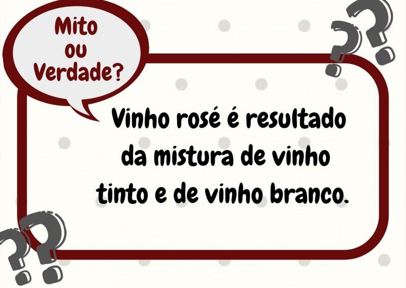 Foto de capa Mito ou Verdade? Vinho rosé é resultado da mistura de vinho tinto e de vinho branco