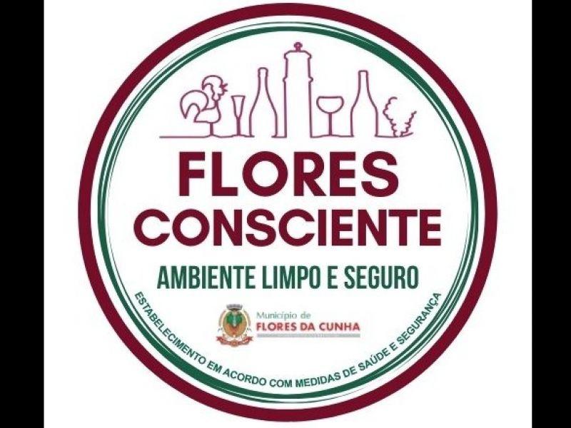 "Foto Turismo apresenta o ""Selo Flores Consciente - Ambiente Limpo e Seguro"""
