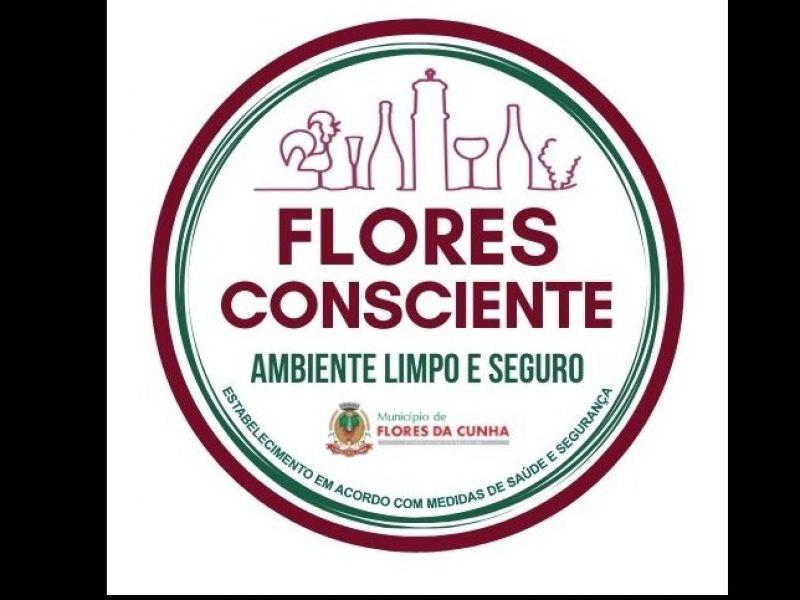 "Foto Confira os requisitos para solicitar o ""Selo Flores Consciente - Ambiente Limpo e Seguro"""