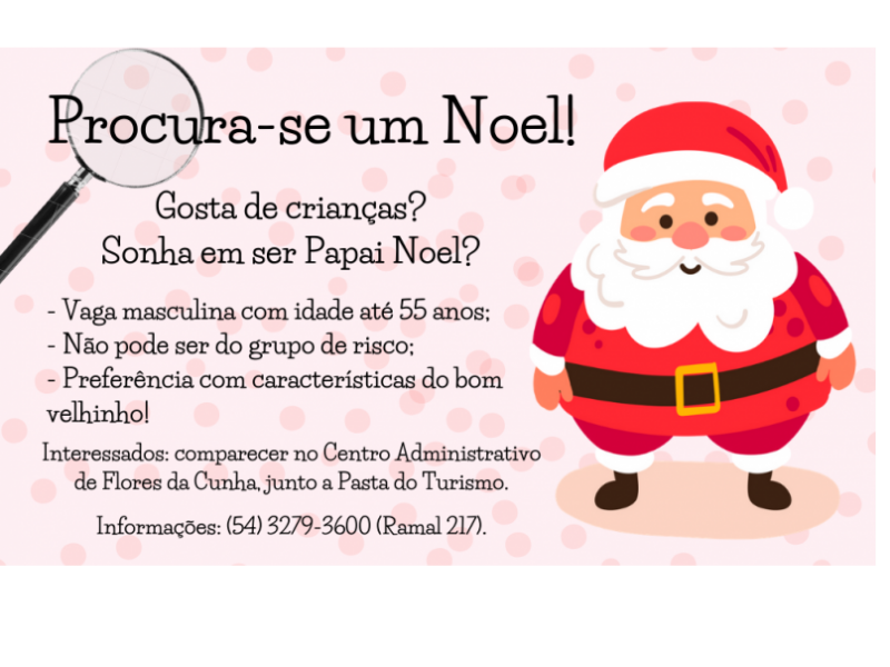 Foto Município de Flores da Cunha procura um Papai Noel