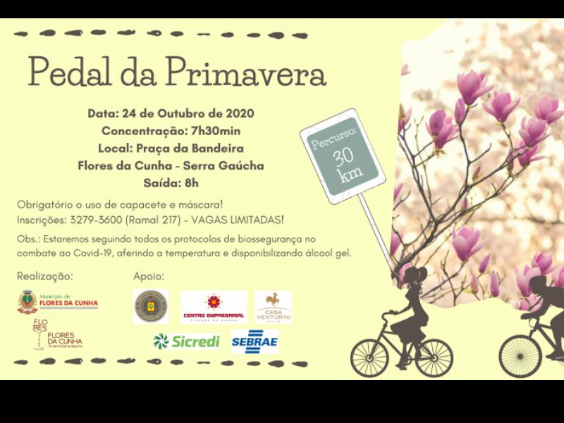 Foto Últimos dias para se inscrever no Pedal da Primavera de Flores da Cunha