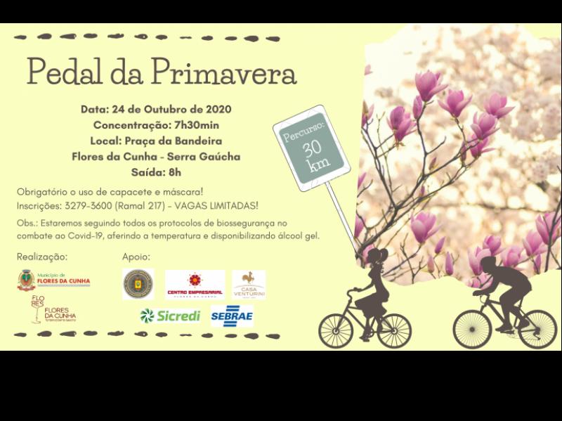 Foto Encerradas as inscrições para o Pedal da Primavera de Flores da Cunha