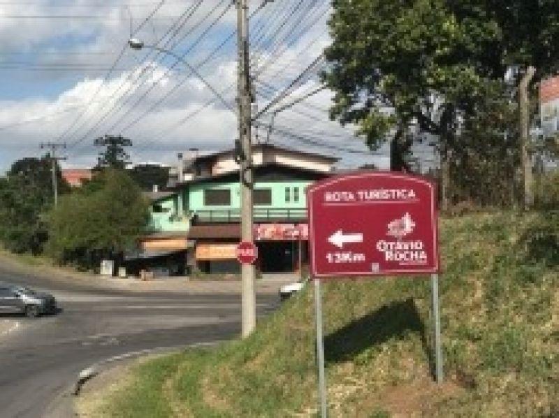 Foto Roteiro Otávio Rocha Vila Colonial recebe sinalização turística