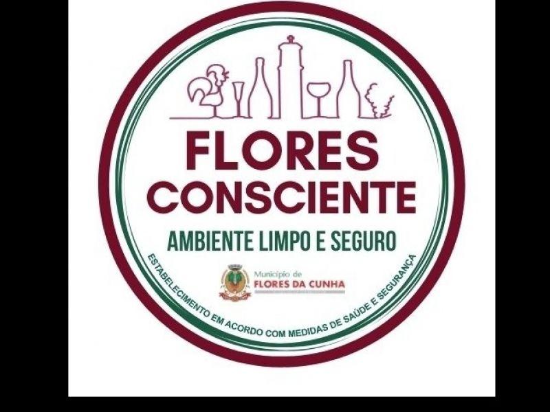 """Foto Confira como solicitar o """"Selo Flores Consciente - Ambiente Limpo e Seguro"""""""