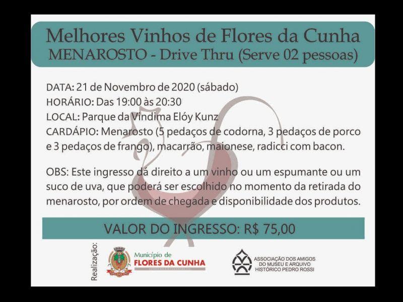 Foto Últimos ingressos para Menarosto dos Melhores Vinhos