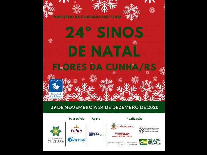 Foto Secretaria de Turismo divulga programação do 24º Sinos de Natal