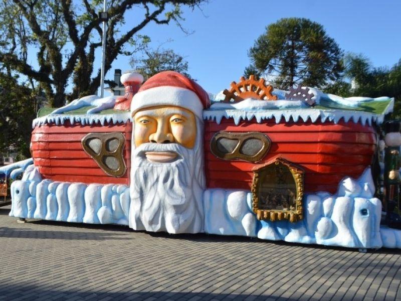 Foto Confira a programação da Casinha do Papai Noel na Praça da Bandeira