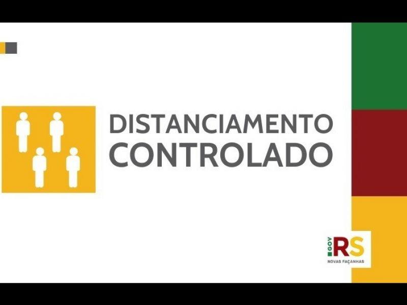 Foto Confira as novas regras da bandeira vermelha do distanciamento controlado no RS