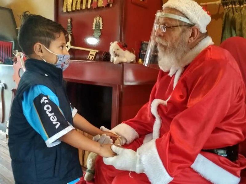 Foto Confira os horários da Casinha do Papai Noel neste final de semana