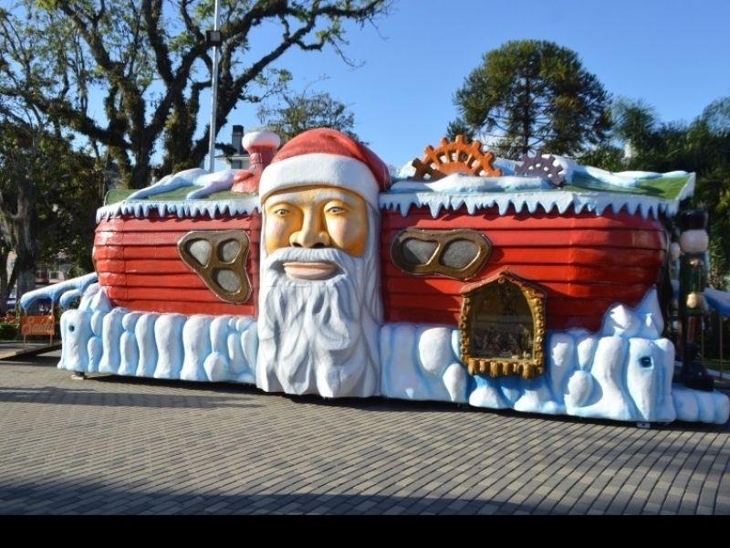 Foto Casinha do Papai Noel terá atendimento nesta quinta-feira, dia 24, em Flores da Cunha