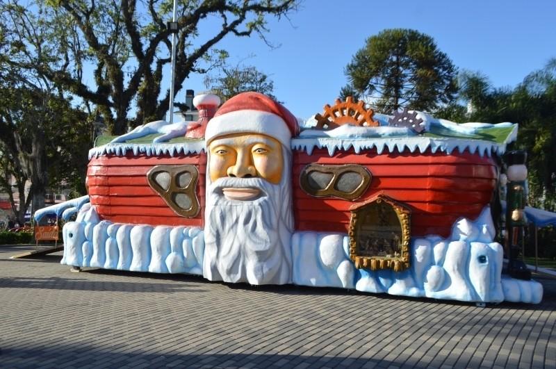 Foto de capa Casinha do Papai Noel terá atendimento nesta quinta-feira, dia 24, em Flores da Cunha