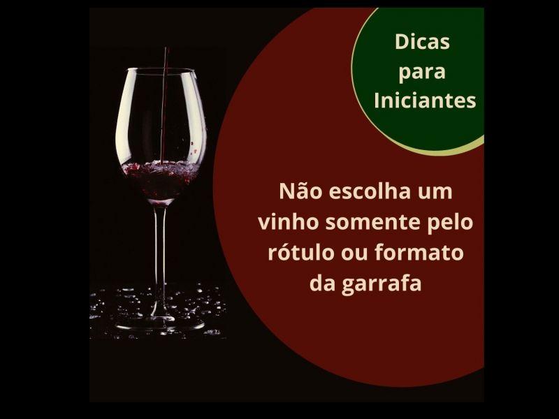 Foto Não escolha um vinho somente pelo rótulo ou pelo formato da garrafa