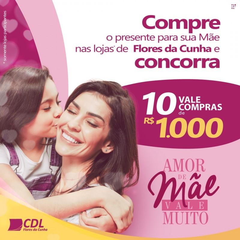 """Foto de capa CDL de Flores da Cunha realiza Campanha """"Amor de Mãe Vale Muito"""""""