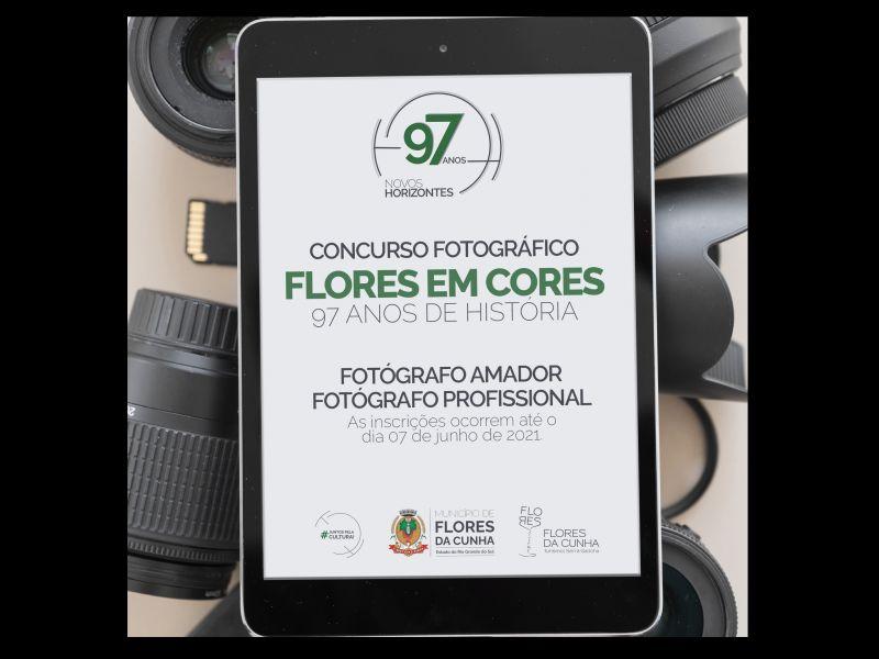 """Foto Concurso Fotográfico """"Flores em Cores: 97 anos de história"""" está com inscrições abertas!"""