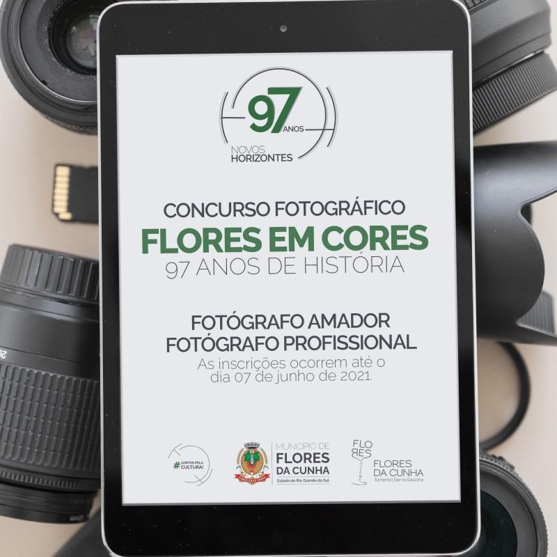 """Foto de capa Concurso Fotográfico """"Flores em Cores: 97 anos de história"""" está com inscrições abertas!"""