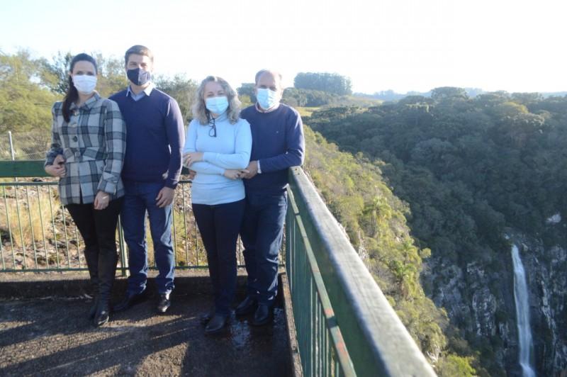 Foto de capa Prefeito e secretário de Turismo participam do Projeto Talian Trip