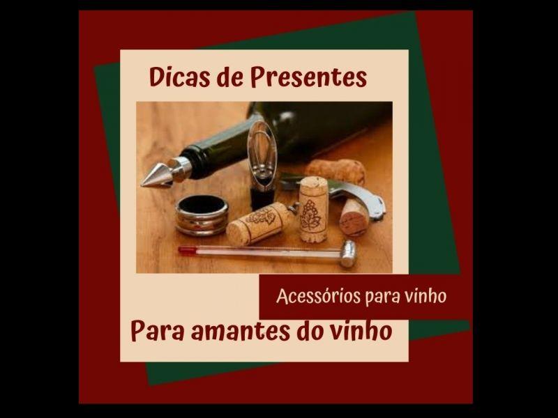 Foto Kit com acessórios para vinho
