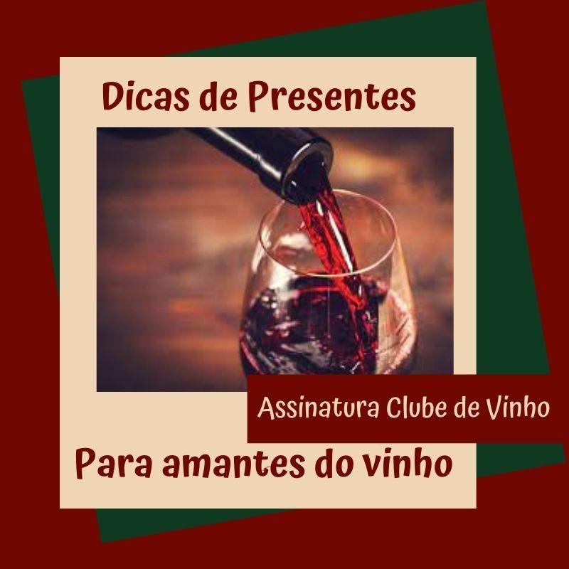Foto de capa Assinatura de um clube de vinhos