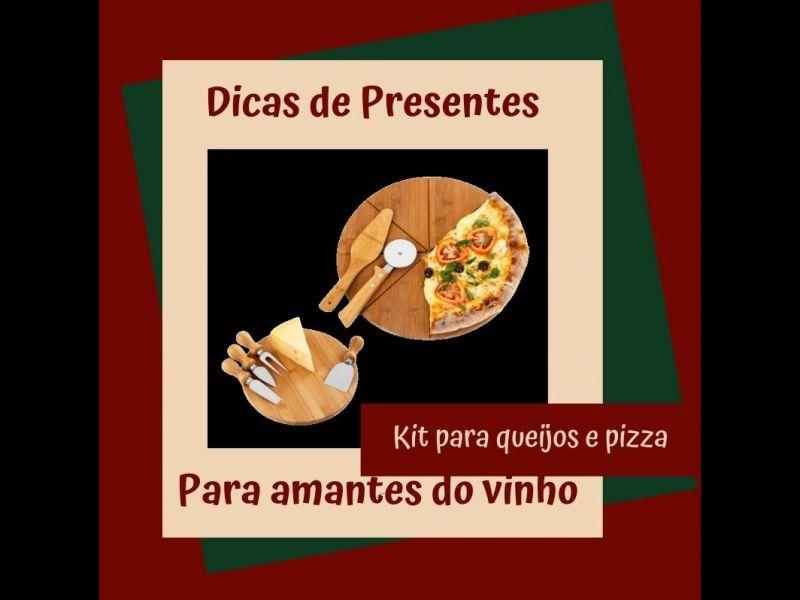 Foto Kit para queijos e pizzas