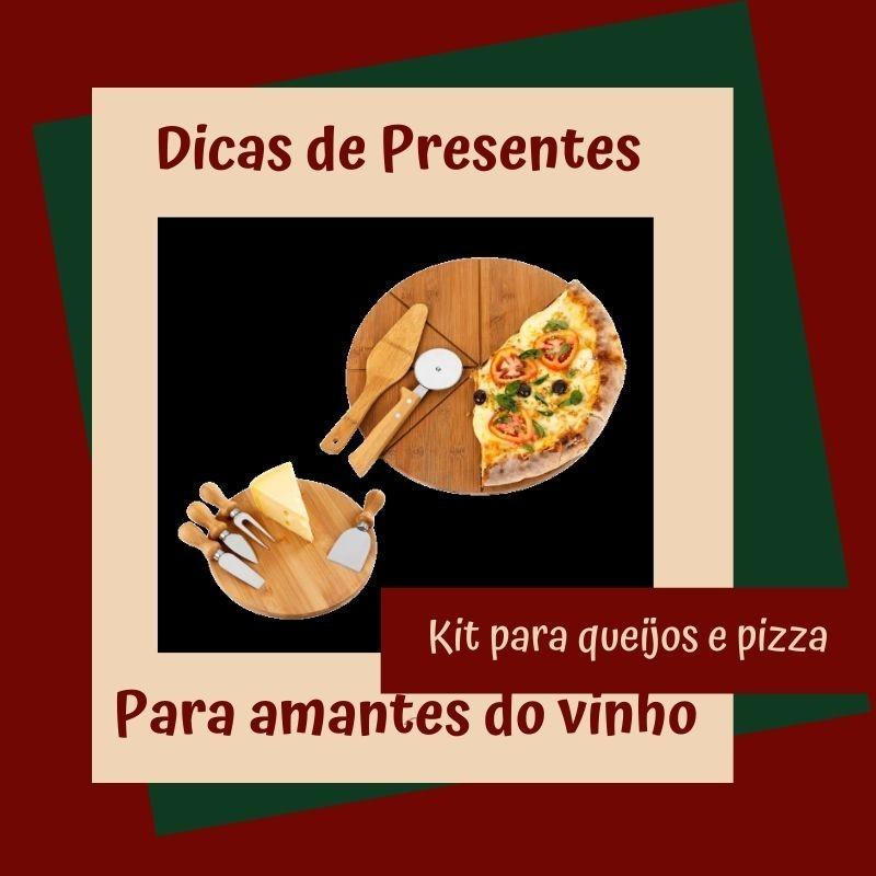 Foto de capa Kit para queijos e pizzas
