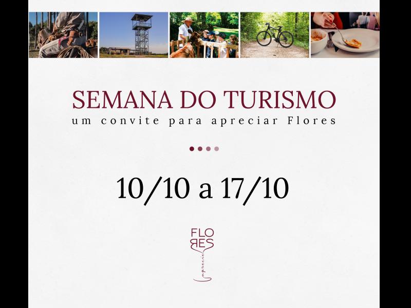 Foto Com o tema 'Encantamento e Hospitalidade nos unem', Semana Municipal do Turismo começa no dia 10