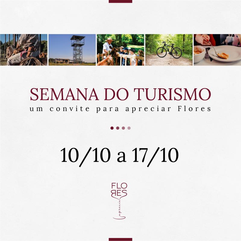 Foto de capa Com o tema 'Encantamento e Hospitalidade nos unem', Semana Municipal do Turismo começa no dia 10