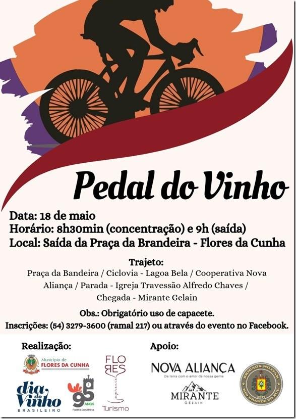 Foto de capa Pedal do Dia do Vinho ocorre neste sábado, dia 18, em Flores da Cunha