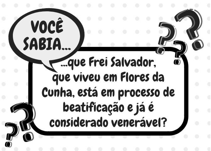 Foto de capa Você sabia que Frei Salvador, que viveu em Flores da Cunha, está em processo de beatificação e já é considerado venerável?