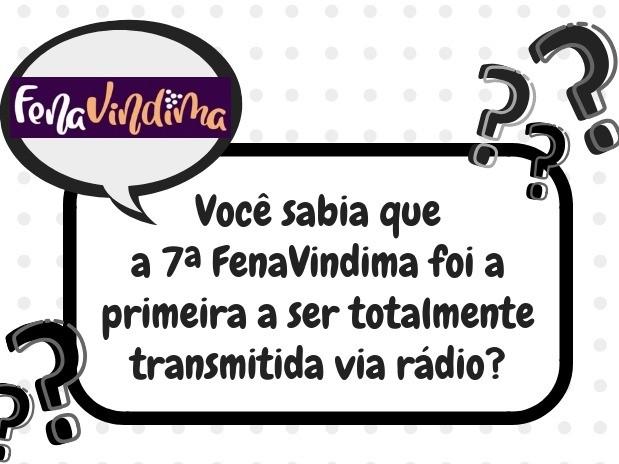 Foto Você sabia que a 7ª FenaVindima foi a primeira a ser totalmente transmitida via rádio?
