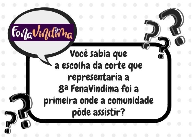 Foto de capa Você sabia que a escolha da corte que representaria a 8ª FenaVindima foi a primeira onde a comunidade pôde assistir?