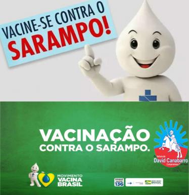 Foto de capa da notícia: Vacine-se contra o sarampo!