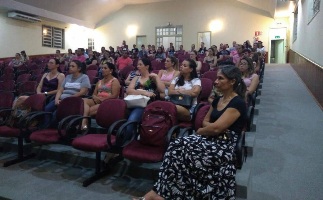 Foto de capa da notícia: Reunião com os pais dos alunos da Creche Ocir Longaretti