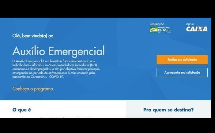 Foto de capa da notícia Disponível o Cadastro para o Auxílio Emergencial