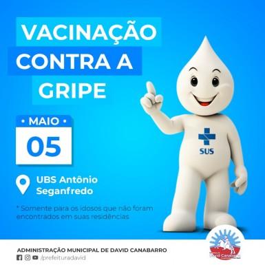 Foto de capa da notícia: Campanha de Vacinação da Gripe