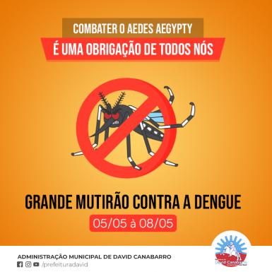 Foto de capa da notícia: Todos Contra a Dengue