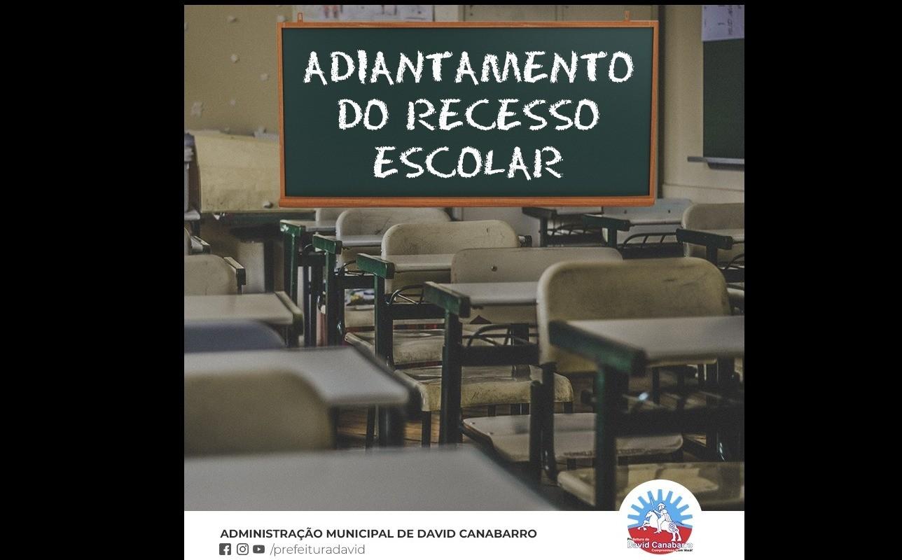 Foto de capa da notícia Recesso Escolar