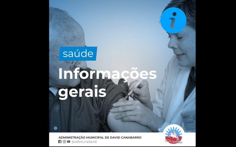 Foto de capa da notícia: Informações Gerais da Saúde
