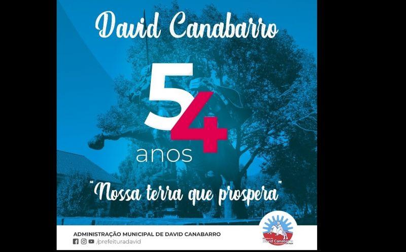 Foto de capa da notícia: Parabéns David Canabarro pelos seus 54 Anos